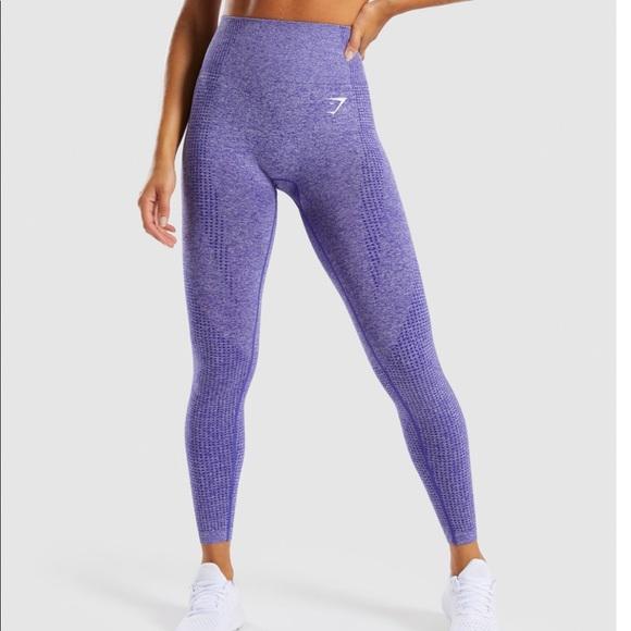 6dde78da497e8 Gymshark Pants | Vital Seamless Legging Indigo Marl | Poshmark